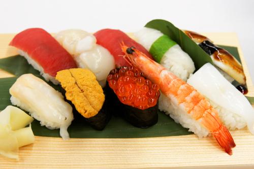お寿司前景
