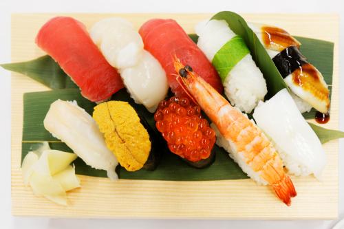 寿司 真上から