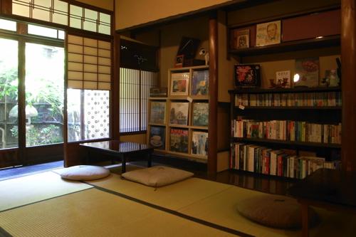 京都・ハイファイカフェ店内のようす