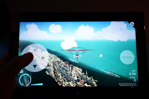 Surface Pro 2でプレイ