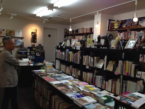 京都『レティシア書房』店内のようす