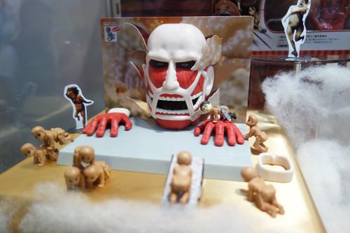 【東京おもちゃショー2014】『進撃の巨人』の『ツミコレ』はただ積んで遊ぶだけじゃない