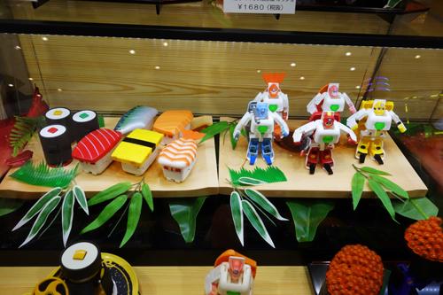 【東京おもちゃショー2014】お寿司がヒーローに変形する『お寿司戦隊シャリダー』がついに製品化! 新キャラも投入で広がるシャリダーワールド