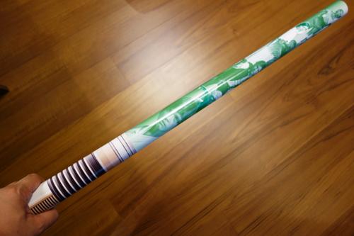 緑のライトセーバー