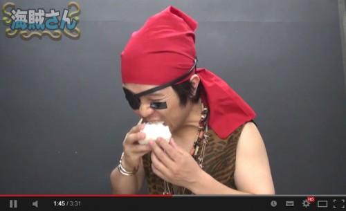 カイゾク_食べてる