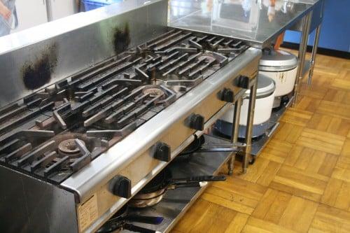 調理室_ガスコンロ