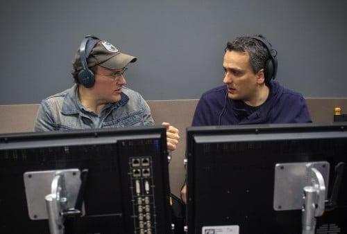 【CAWS】(左から)アンソニー・ルッソ、ジョー・ルッソ監督