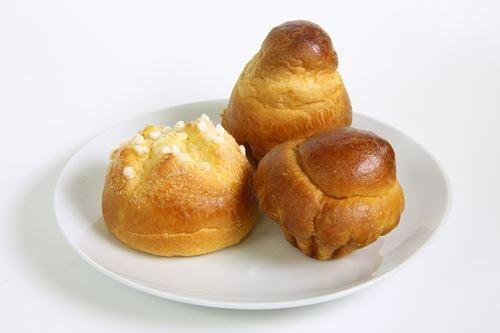 パン屋さんで購入したブリオッシュ