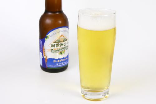 南信州ビール 注いだところ1