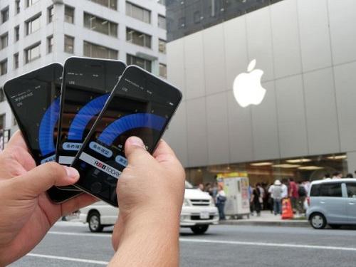 【ついに発売!】都内主要ガジェットスポットでiPhone 6速度調査を緊急実施! 結果はソフトバンクが優位に