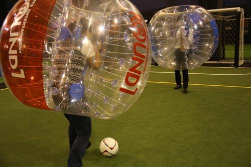 バブルを装着しながらのドリブル