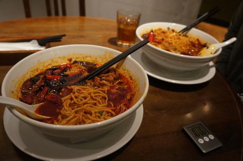 シン・シティ「炎の復讐坦々麺」