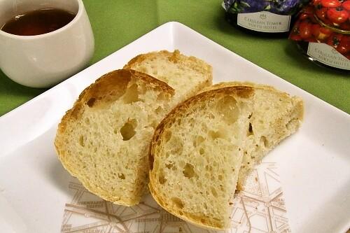 イタリア中世無塩パン