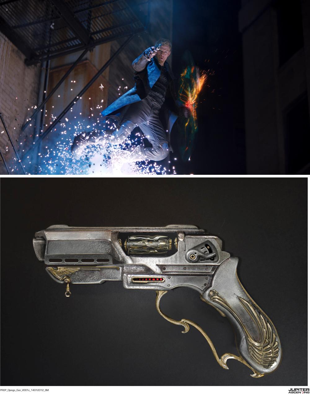 『ジュピター』銃兵器の設定資料公開