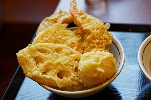 丸亀製麺で天丼