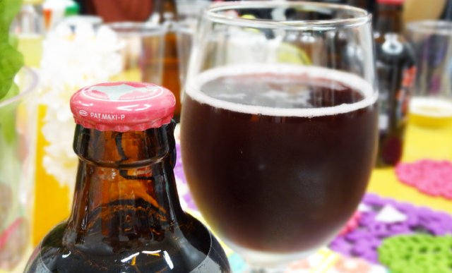 ビール ワイン色