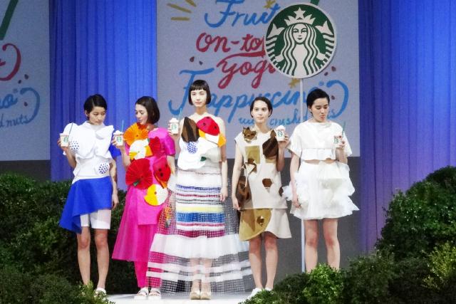 ファッションショー5人
