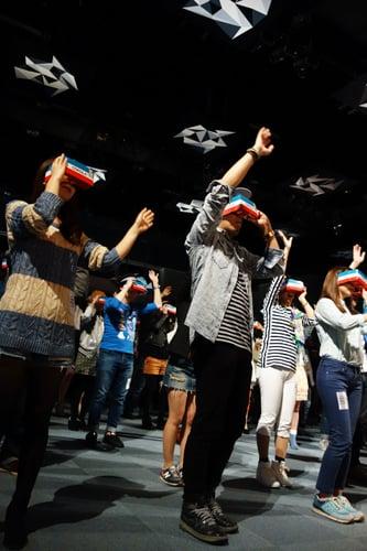 VRの空間でアーティストが歌うMR(複合現実)ライブを体験できるトヨタ『MIXED REALITY LIVE!』 収録の舞台裏はこうだった
