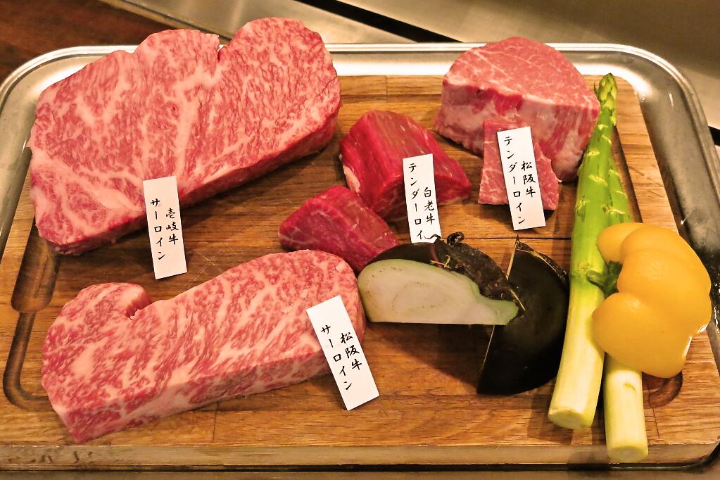 お肉食べ比べ
