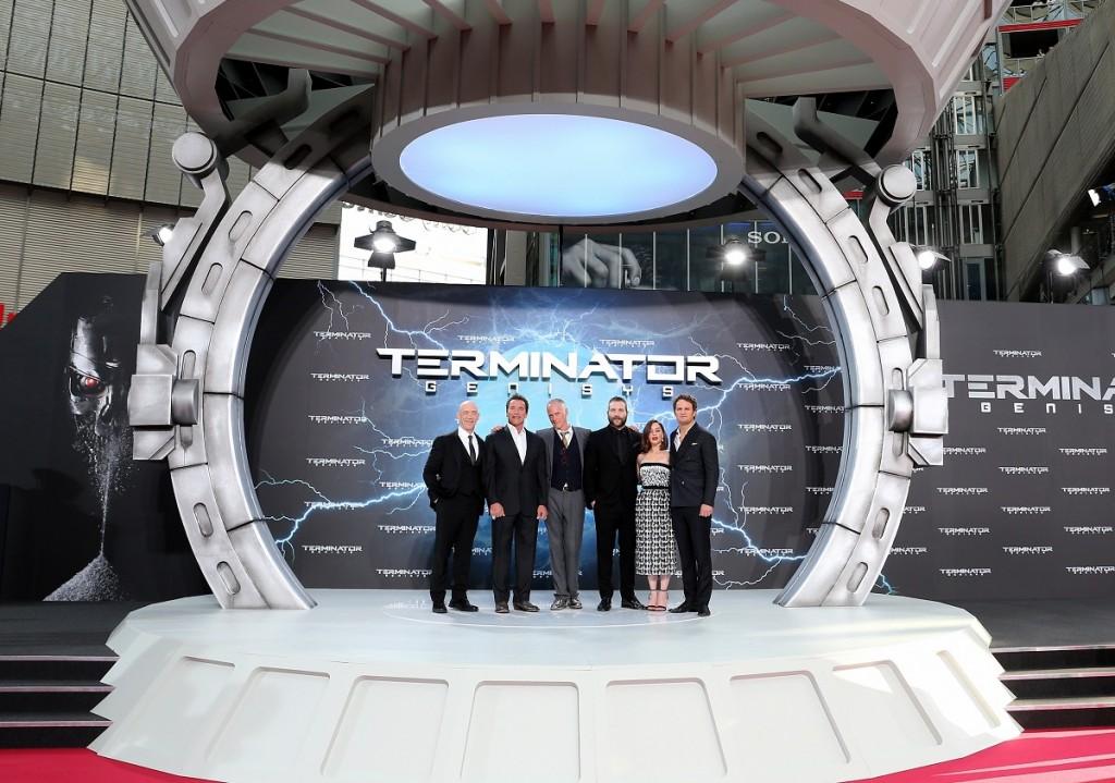 'Terminator: Genisys' European Premiere