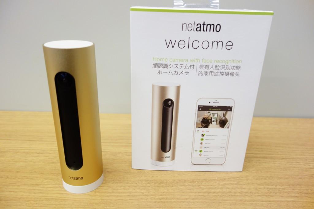 顔を認識してスマートフォンに通知や映像を配信するネットワークカメラ『Welcome』を仏Netatmo社が発売