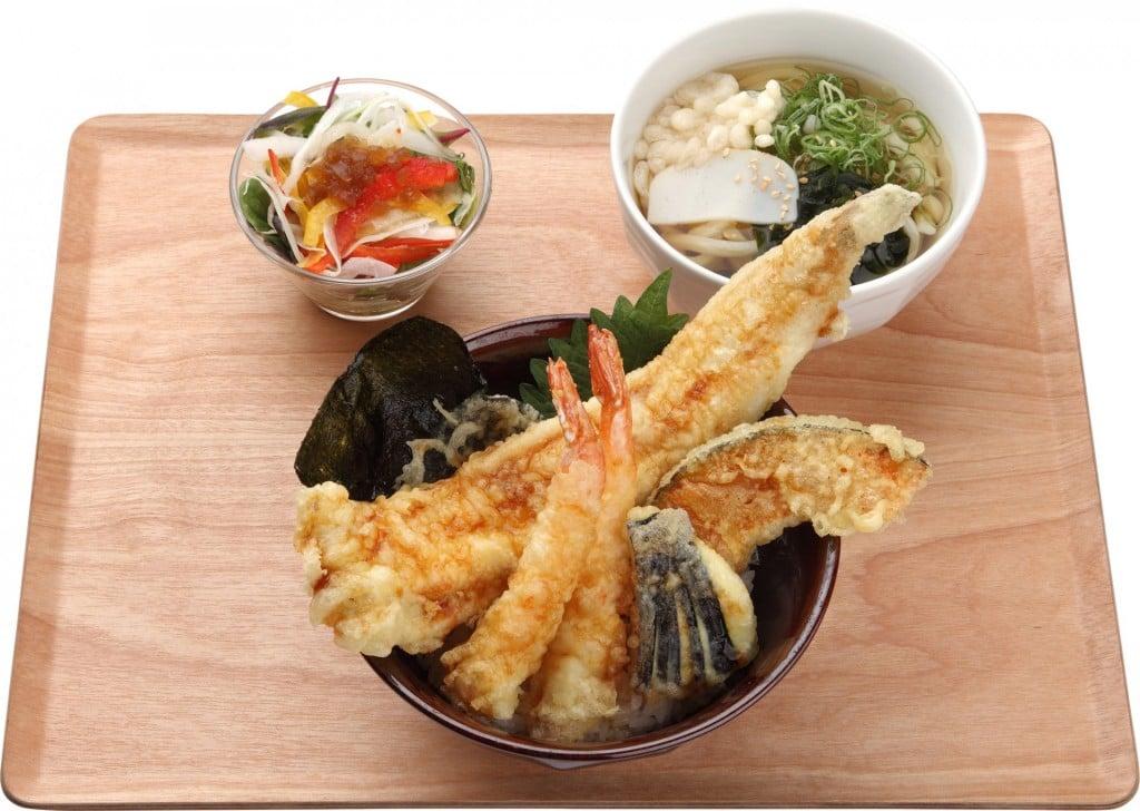 寿司屋の天丼膳