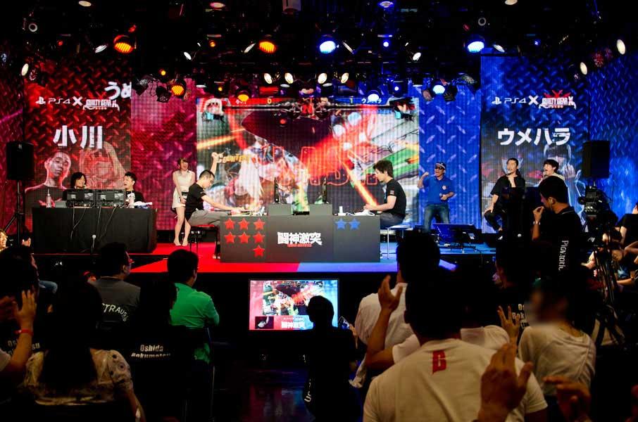 最終バトル10、小川選手対ウメハラ選手