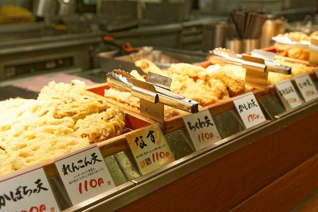 天ぷらコーナー逆