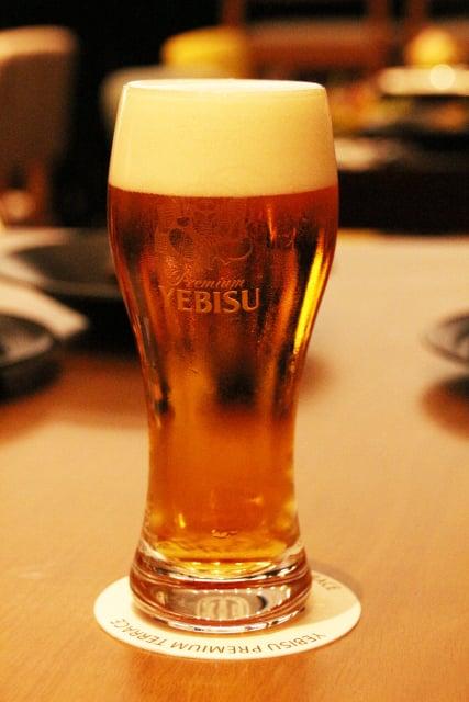 バカラグラスビール