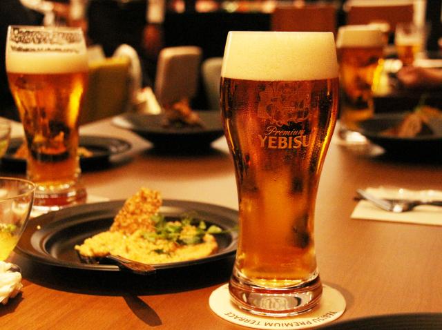 ビールとフード