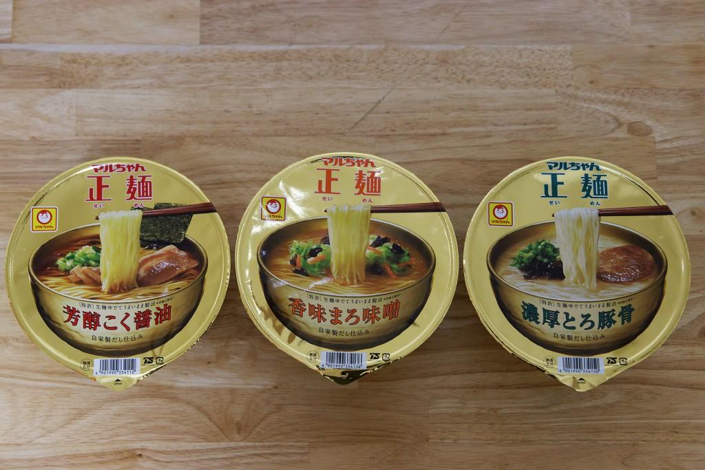 マルちゃん正麺カップ