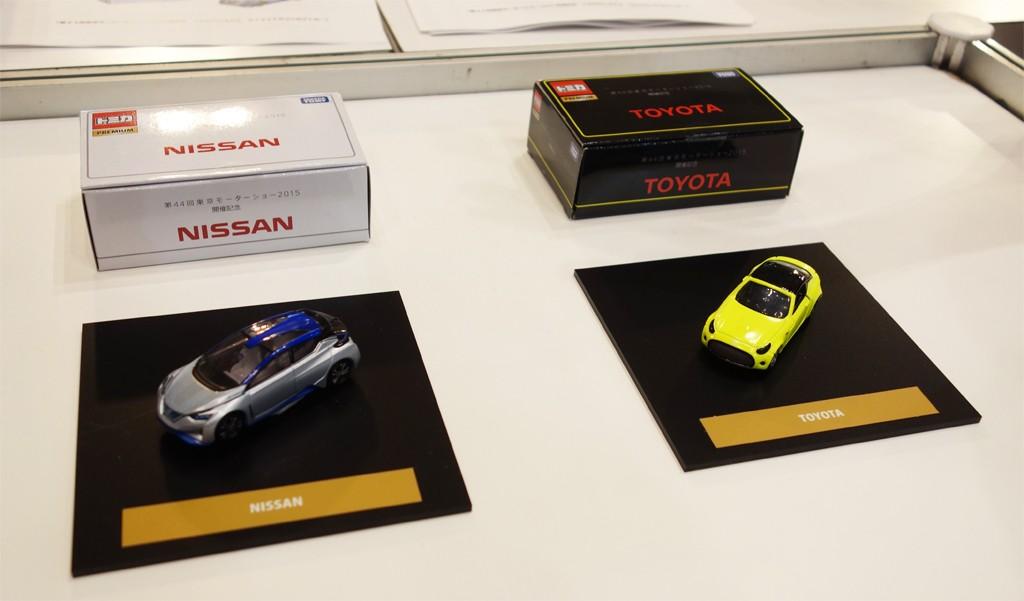 【東京モーターショー2015】トヨタと日産のコンセプトカーが『トミカ』になって世界最速で発売へ
