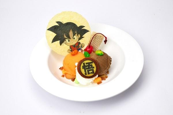 悟空・オン・アイスプレート(580円)