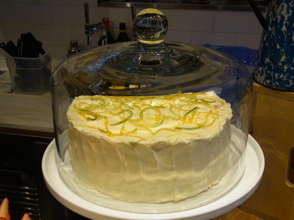 レモンコジェットケーキ