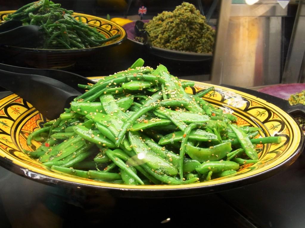 ケールと4種類の豆のサラダ