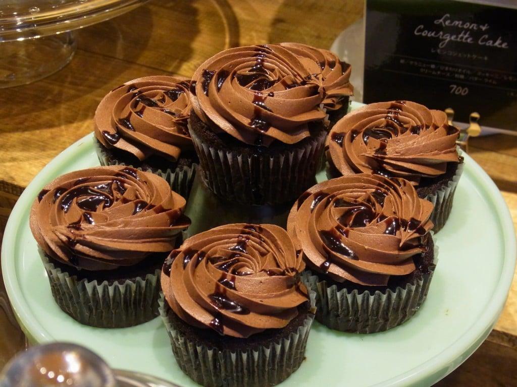 チョコレートビーツカップケーキ