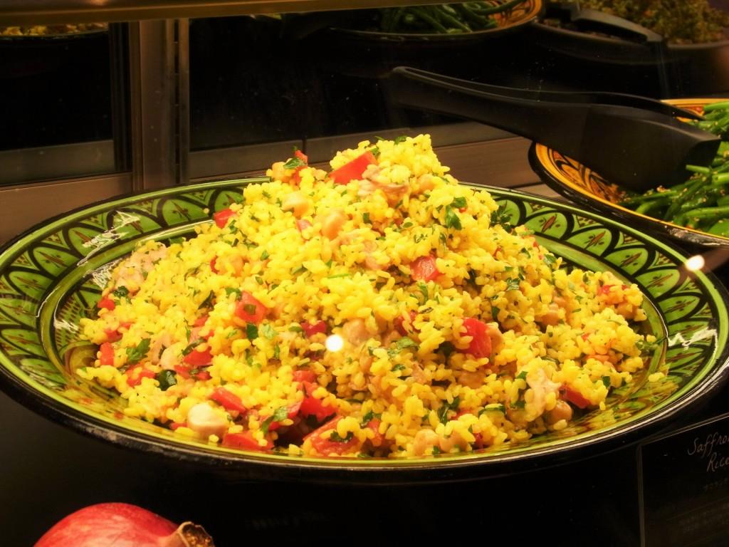 サフランチキンライスサラダ