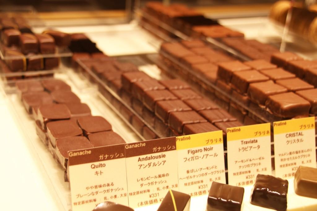 チョコレート図