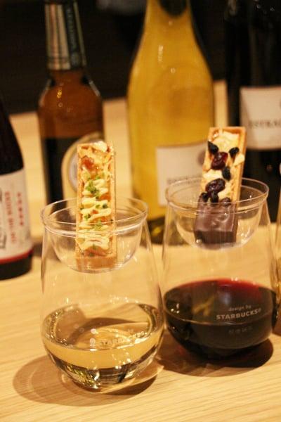 スタバオリジナルワインに合わせたスイーツ