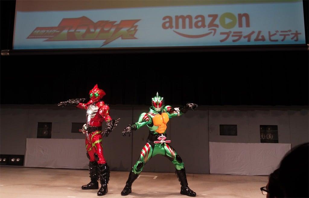 『Amazon』が『仮面ライダーアマゾン』を製作!? 『Amazon プライム・ビデオ』日本製作の第1弾として『仮面ライダーアマゾンズ』を4月に配信開始