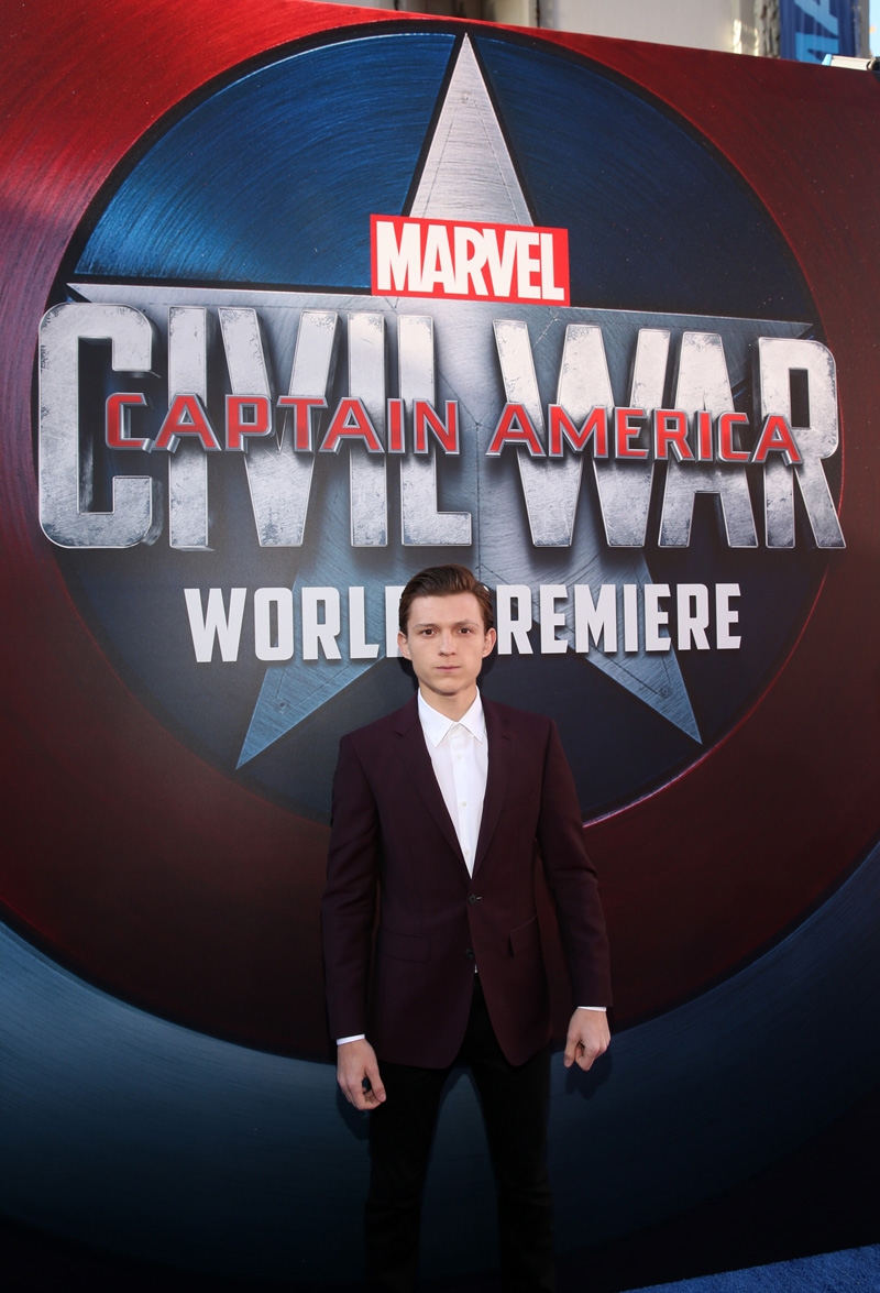 The World Premiere Of Marvel's