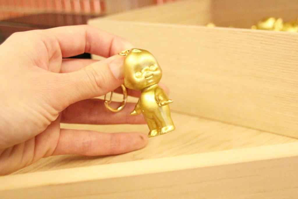 金色のキューピー