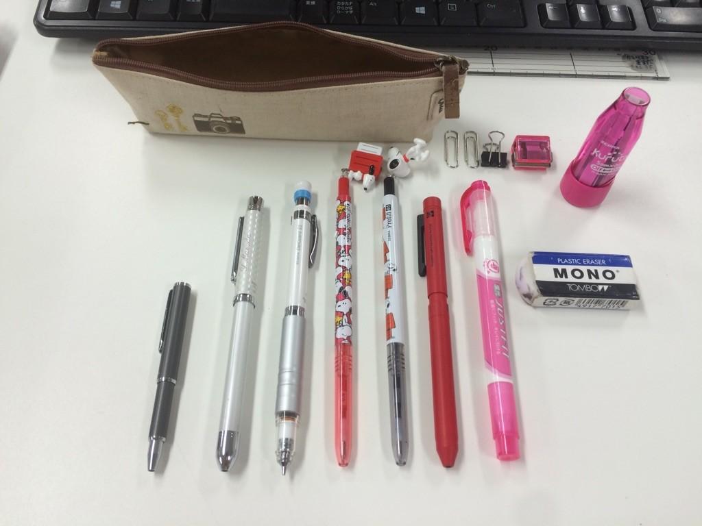 ゼブラ鈴木筆箱3