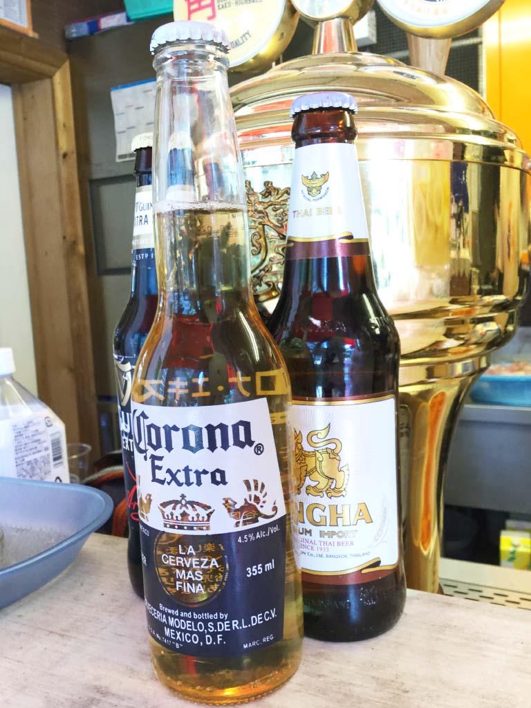 ビールもあるよ