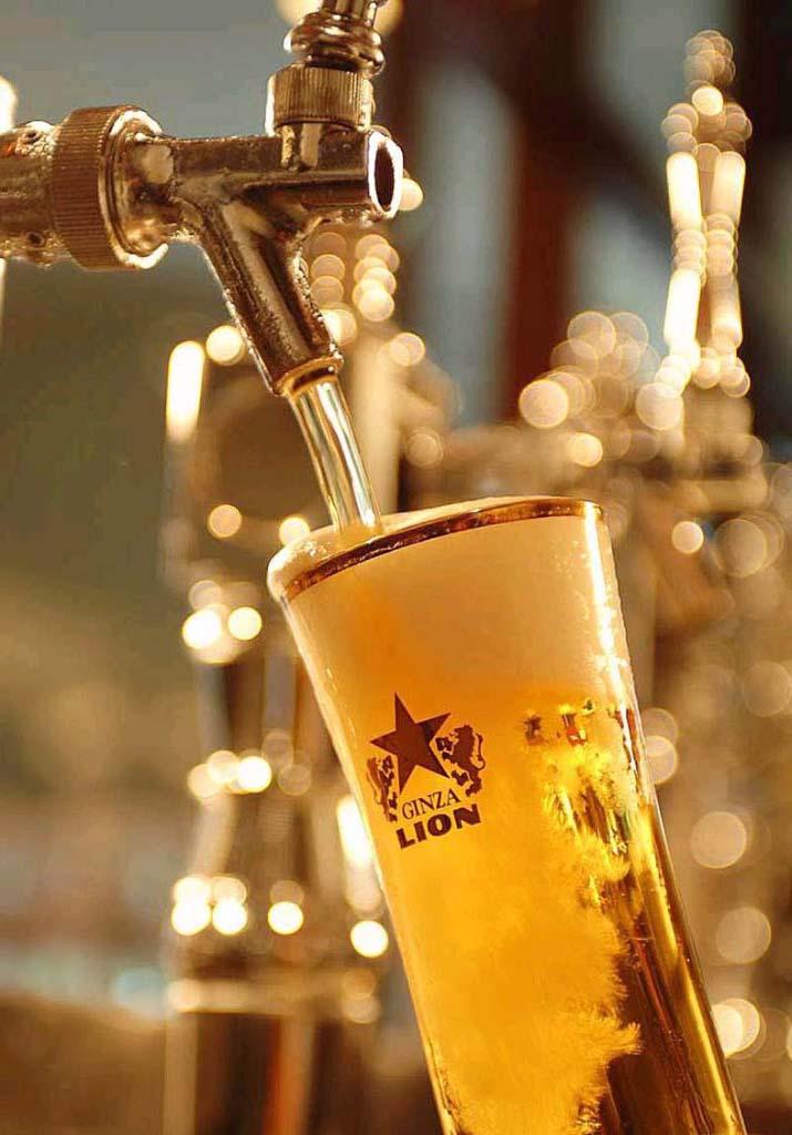 生ビール注ぎイメージ