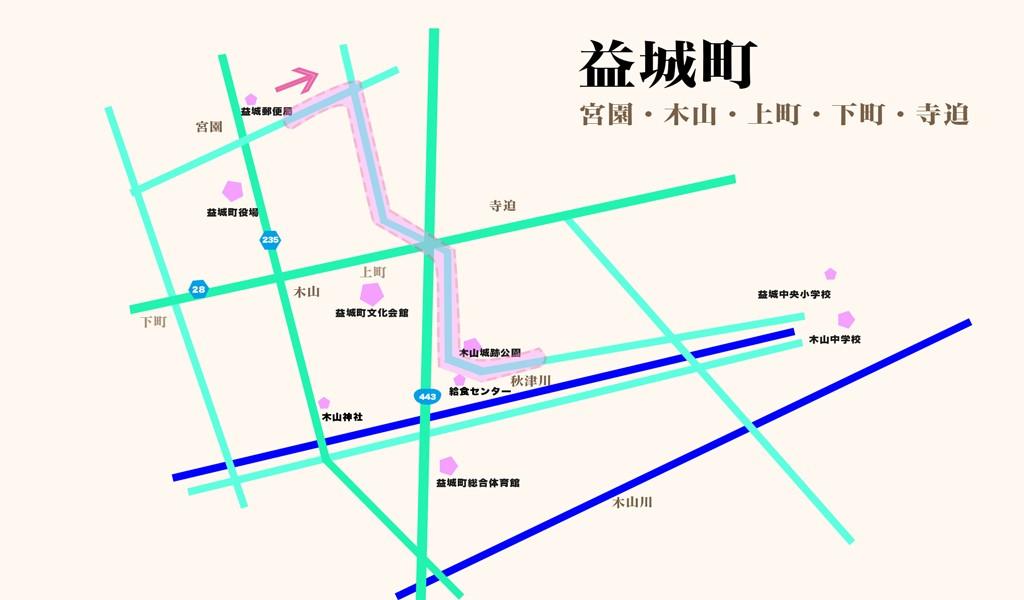 益城町マップ_通学路
