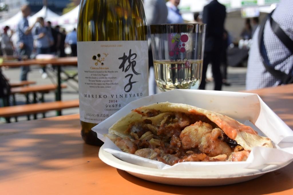【日本ワイン祭り】料理とワイン_2