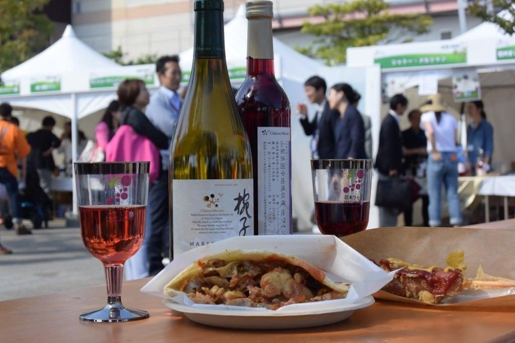 【日本ワイン祭り】料理とワイン_1