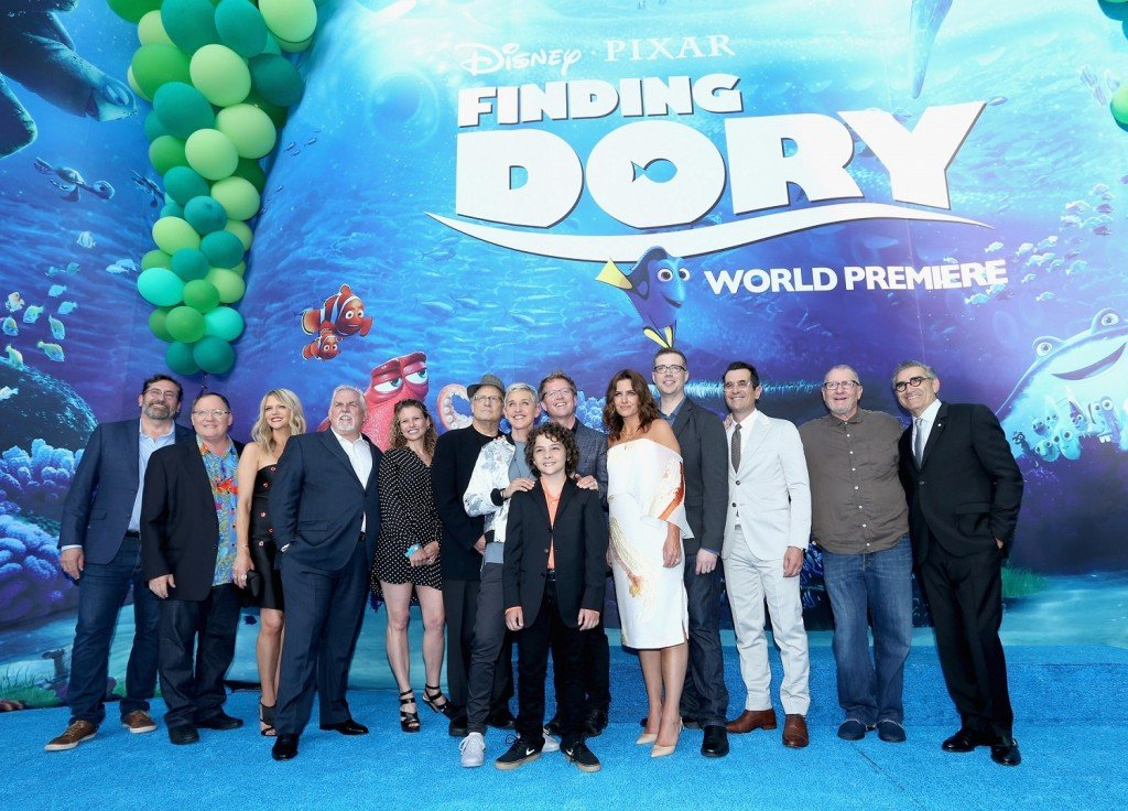The World Premiere Of Disney-Pixar's