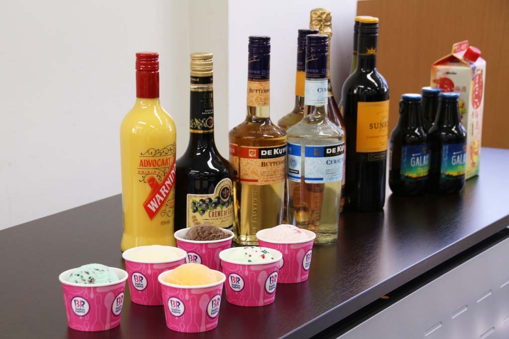アイスとお酒のちょい足しずらり2